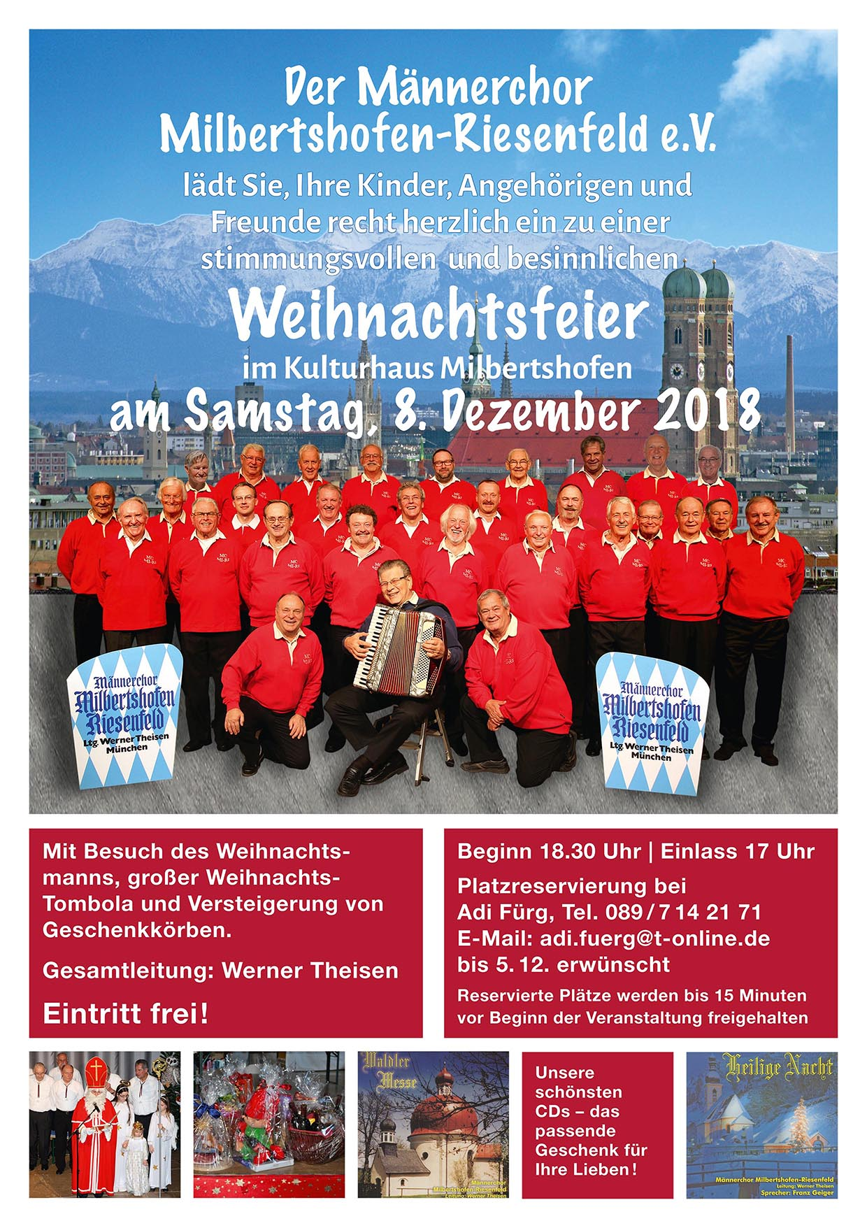 Weihnachtsfeier Plakat.2016 Starkbierfest